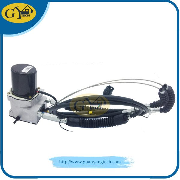 709-45000006 Throttle Motor Assy - GUANYANG Stepping Motor Round Short Line Round Plug with 5 Pins for Kato HD450-7 HD550-7 HD512-Ⅱ/Ⅲ HD513-Ⅰ/Ⅱ/Ⅲ 4D34 6D31 6D34 Excavator Parts