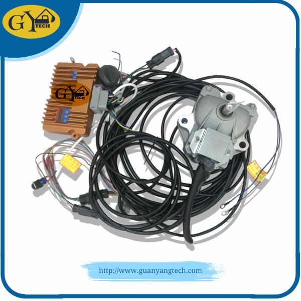 Komatsu Accelerator Motor Testing