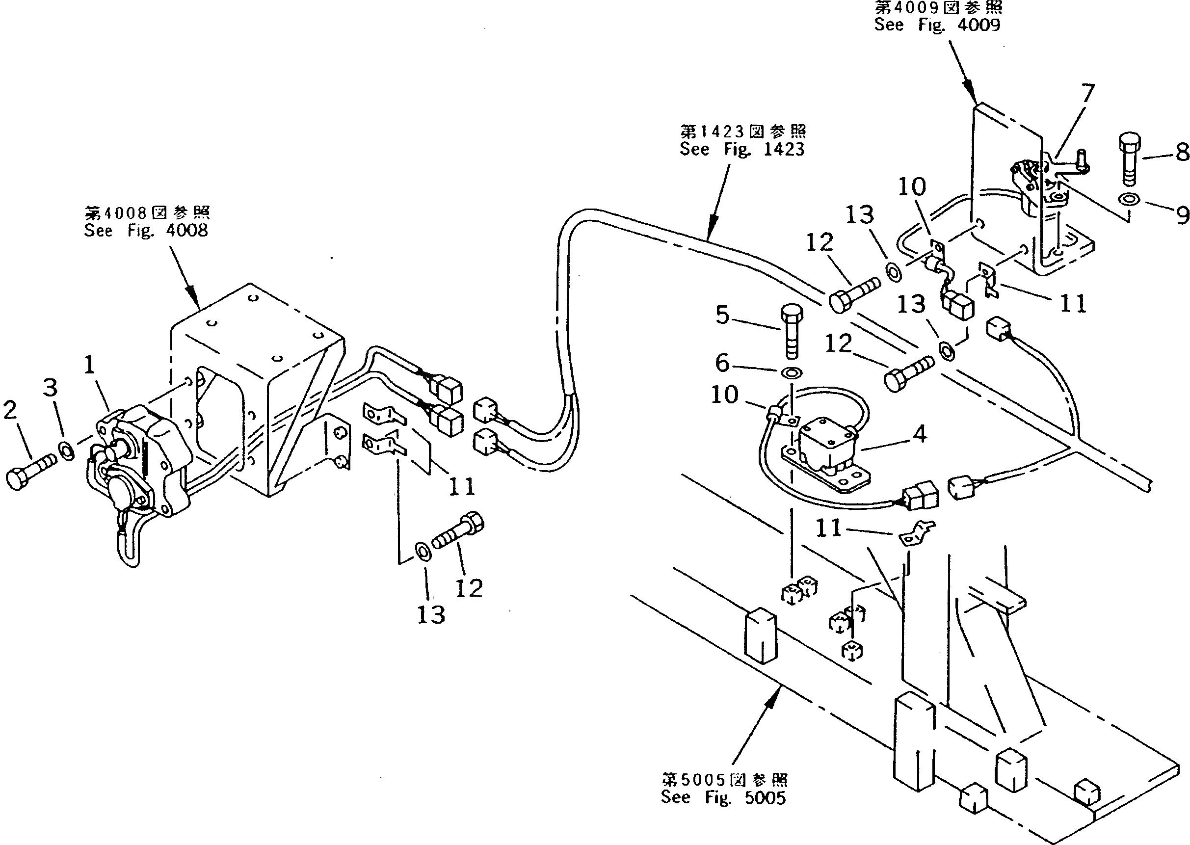 PC200 5 stepping motor - PC200-5 Komatsu Accelerator Motor 7824-30-1600