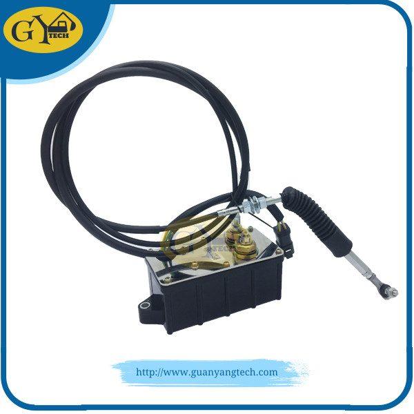 Accelerator motor 21EN-32240, R215-7 Accelerator Motor, 21EN-32300 Accelerator Motor