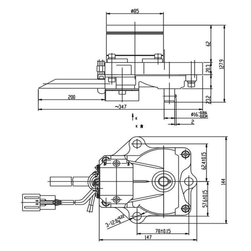 komatsu pc200 7 step motor 7834 41 2000 - PC200-6 Stepper Motor 7834-40-2000 7834-40-2001 7834-40-2003 7834-40-3000