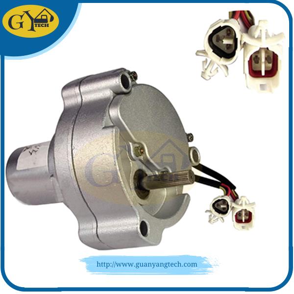 SK200 3 motor assy - SK200-3 SK200-5 Throttle motor 2406U197F4 For Kobelco