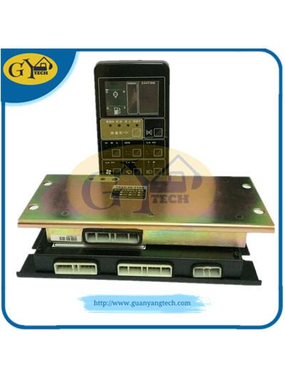 PC200 5 电脑板显示屏组合 3 2 副本 - PC200-5 control box ass'y 7824-12-2001 MCU for Komatsu excavator7824122001