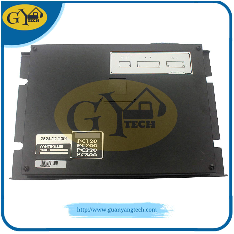 PC200 5 7824 12 2001  - PC200-5 control box ass'y 7824-12-2001 MCU for Komatsu excavator7824122001