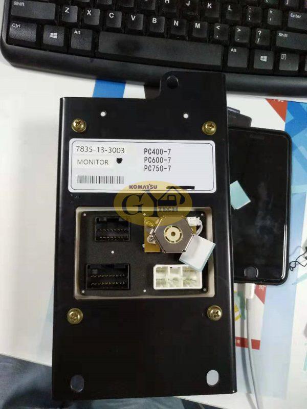 PC750-7 7835-13-3003 monitor for Komatsu PC750-7 monitor