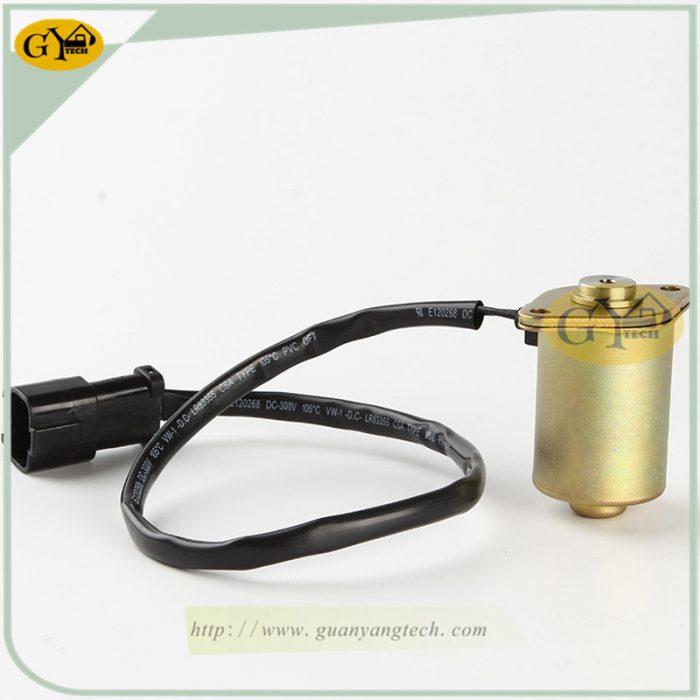 6D102206 60 51130 SOLENOID VALVE 3 副本 e1565599562952 - 20Y-60-51130 solenoid valve for Komatsu PC200-6 6D102 20Y-06-51131 20Y-06-51132