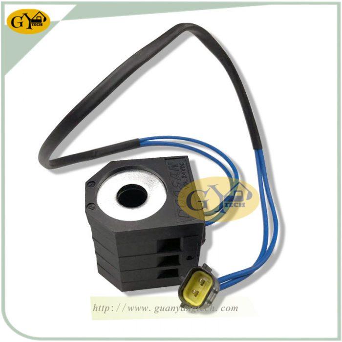 DH220 5 SOLENOID VALVE COIL 5 副本 副本 e1565233587952 - DH220-5 solenoid valve coil 24V for Daewoo Doosan