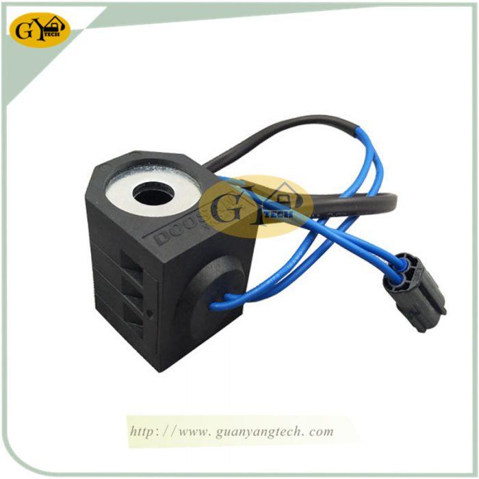 DH220 5 SOLENOID VALVE COIL 副本 副本 e1565233602464 - DH220-5 solenoid valve coil 24V for Daewoo Doosan