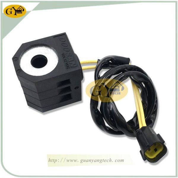 DH220-5 solenoid valve coil 12V for Daewoo Doosan