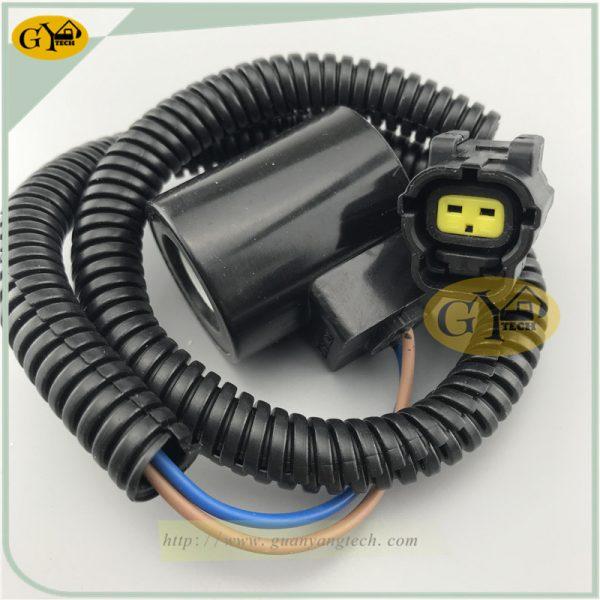 DH55 solenoid valve coil for Daewoo Doosan