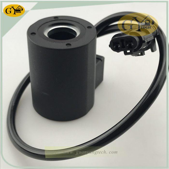 R210 5 SOLENOID VALVE 3 副本 副本 e1565323207248 - R210-5 solenoid valve coil 24V for Hyundai excavator