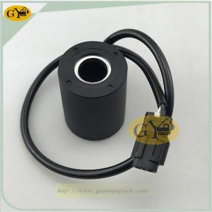 R210-5 solenoid valve coil 24V for Hyundai excavator