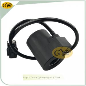 R215-7 solenoid valve coil 24V for Hyundai excavator