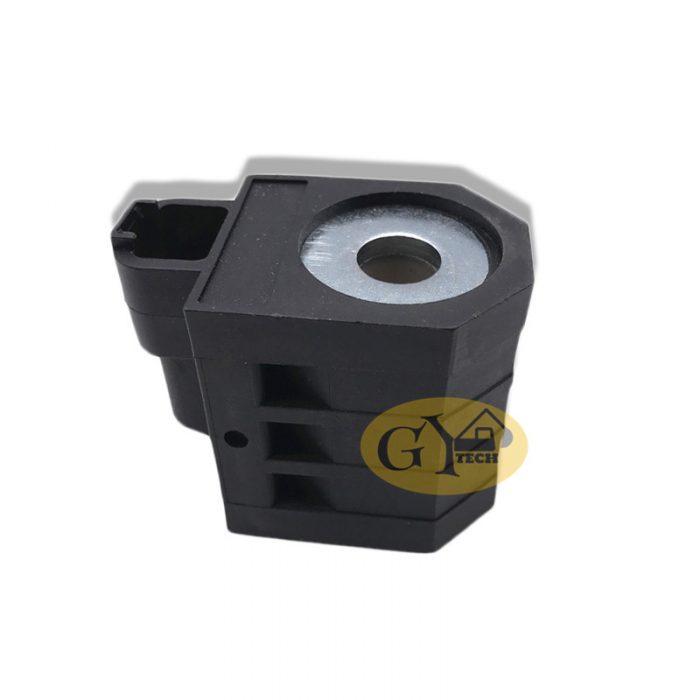 R215 7 SOLENOID VALVE COIL 2 副本 e1565329768110 - R210-7 solenoid valve coil 24V for Hyundai excavator