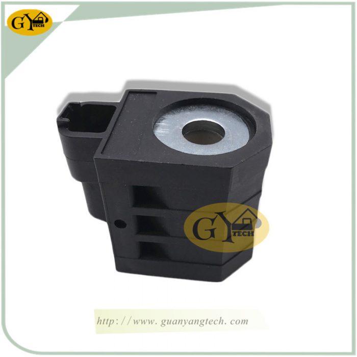 R215 7 SOLENOID VALVE COIL 2 副本 副本 e1565329778628 - R210-7 solenoid valve coil 24V for Hyundai excavator