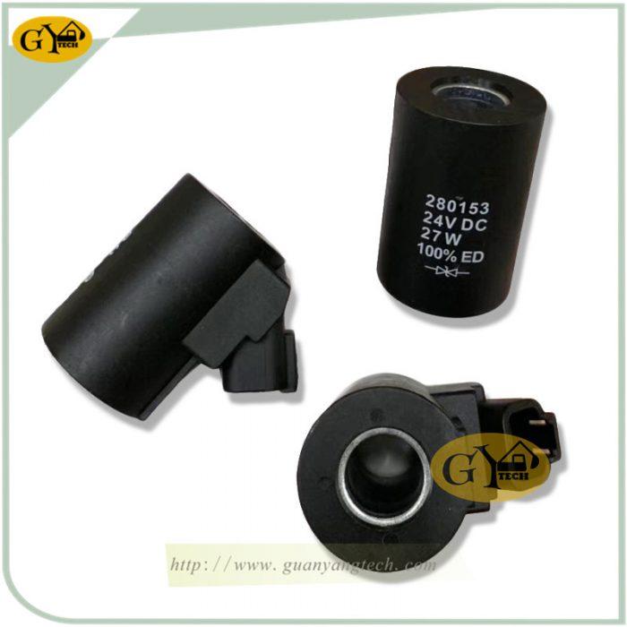 VOLVO360 VOLVO480 12 2 e1568274582904 - 14616529 solenoid valve coil 280153 VOE14616529 VOE14616530 For Volvo EC480 EC360