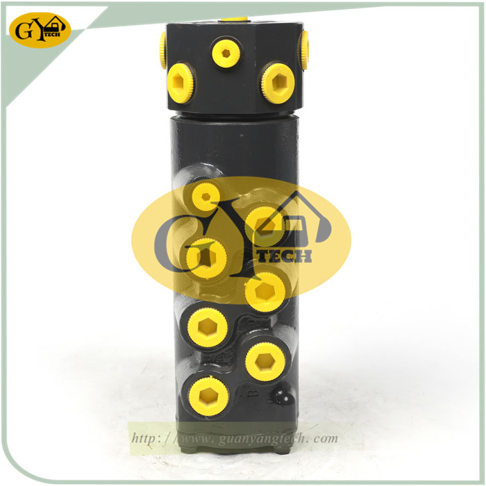 DX75 1 - DX75Centre Revolving Joint Swivel 400826-00027 Rotary Joint for Doosan Excavator Rotary Manifold Center Joint