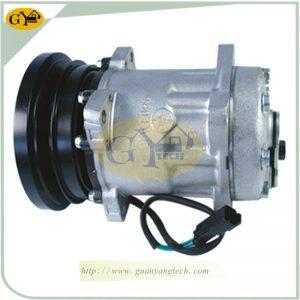 PC300-6 Air Compressor 203-979-6580 Komatsu Excavator AC Compressor Assy 2039796580