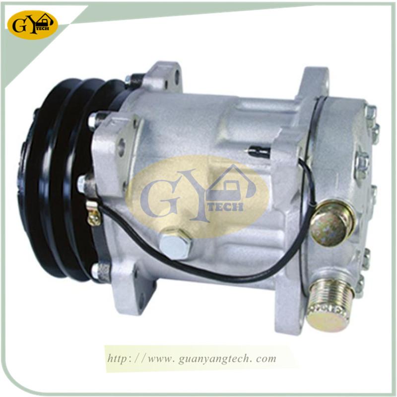 E5007 单泵17 - Caterpillar Air Compressor Single pump for CAT excavator air conditional pump