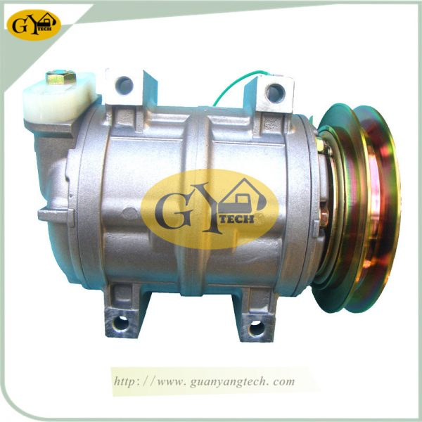 PC120-6 Air Compressor Pump 447220-2580 Komatsu 4D102 Excavator