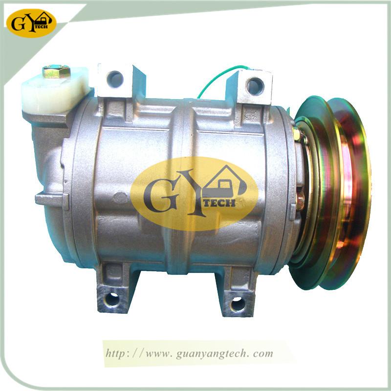 PC120 6 压缩机 - PC120-6 Air Compressor Pump 447220-2580 Komatsu 4D102 Excavator