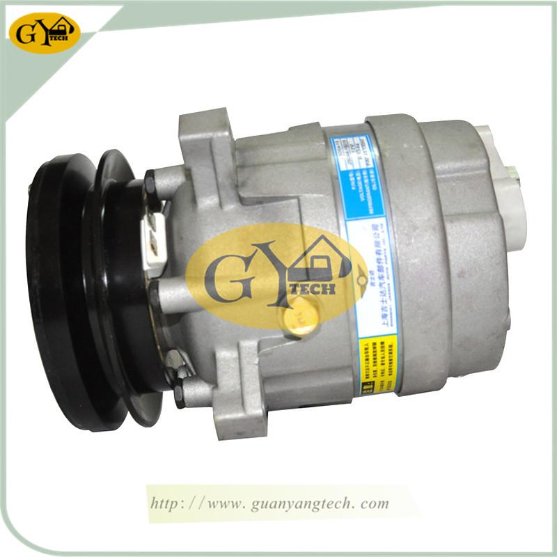 55 压缩机 12V - Daewoo Air Compressor Pump DH55 AC Compressor Pump Doosan Excavator air conditional compressor for Excavator