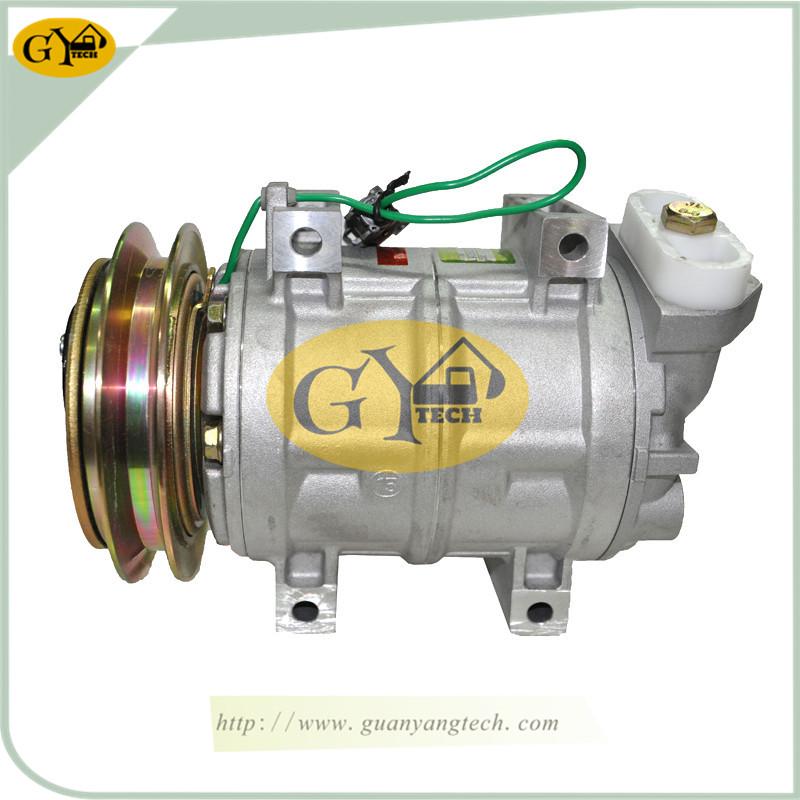 大口(电喷) 压缩机 - Hitachi Air Conditioning Compressor For Hitachi Excavator (Electric Engine) Big End