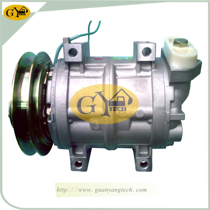 小口(电喷) 压缩机 - Hitachi Air Conditioning Compressor For Hitachi Excavator (Direct Engine) Small End