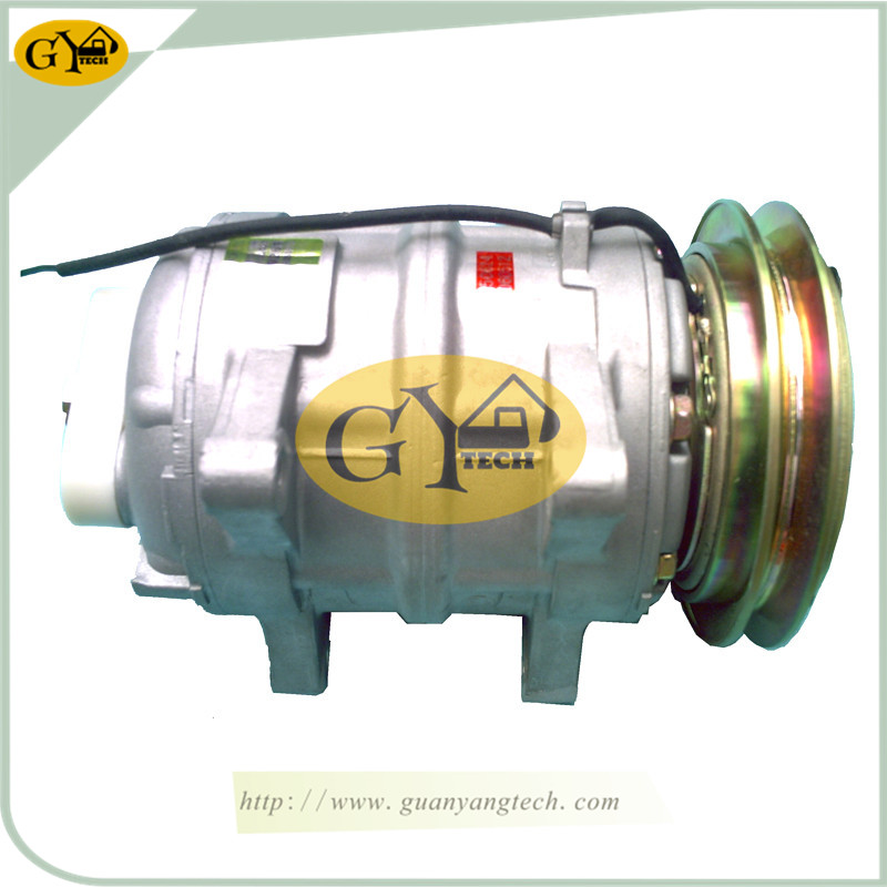 老款 压缩机 - Hitachi Old type Air Conditioning Compressor For Hitachi Excavator