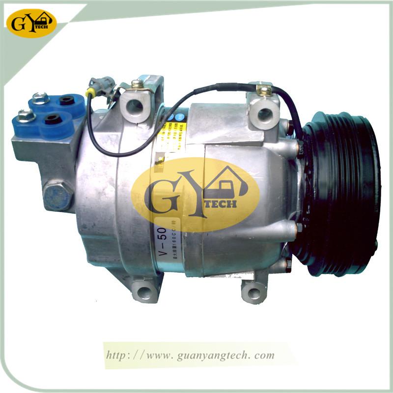 225LC 压缩机 - CLG225LC Air Compressor Pump for Liugong Excavator  air conditional Pump