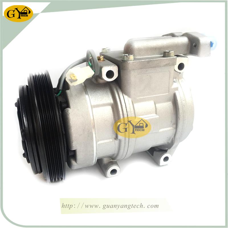 DH220 5 压缩机 - DH220-5 Air Compressor Pump 2208-6013B AC Compressor Pump Doosan Excavator air conditional compressor for Excavator