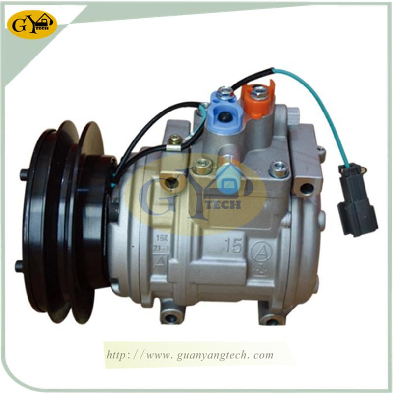 E5009 神钢小挖 - Kobelco Air Conditional Pump AC Compressor Assy Fits Kobelco Mini Excavator