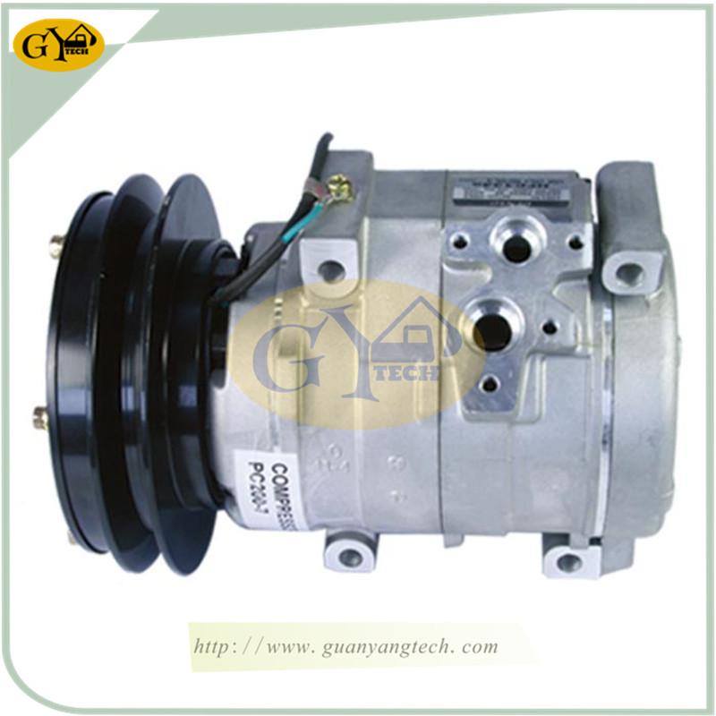 E5010 SK200 8 - For Komatsu PC200-7 Air Compressor 20Y-979-6121 Excavator replacement parts 20Y9796121