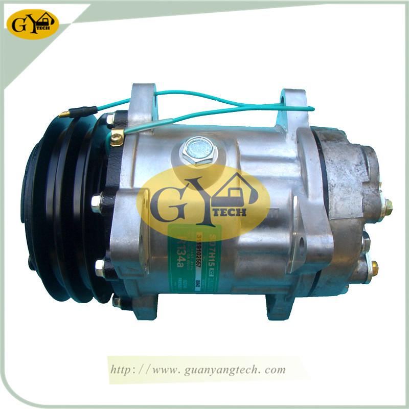 EC210B 压缩机 - EC210B Air Compressor Pump VOE11412632 AC controller air conditional compressor for Volvo Excavator