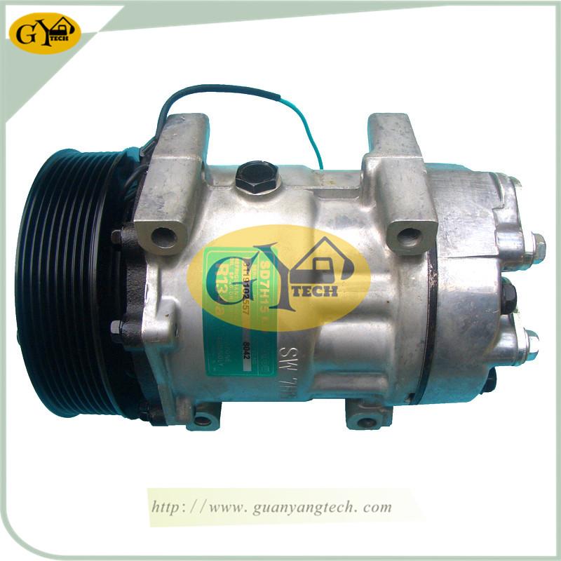 EC360 压缩机 - EC360 Air Compressor Pump VOE11412631 AC controller air conditional compressor for Volvo Excavator