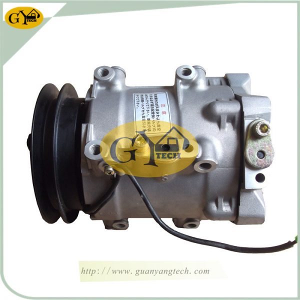 EX200-2 Air Conditioning Compressor For Hitachi Excavator