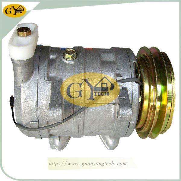 EX200-3 Air Conditioning Compressor 4323943 506211-7130 506012-0102 For Hitachi Excavator