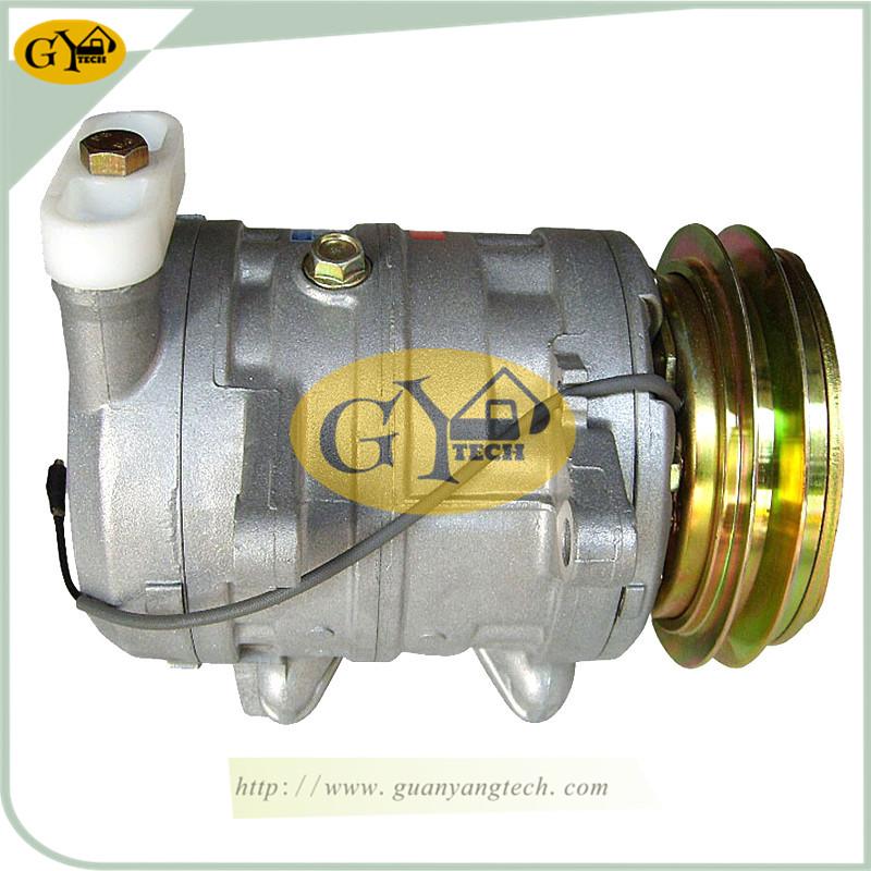 EX200 3 压缩机 - EX200-3 Air Conditioning Compressor 4323943 506211-7130 506012-0102 For Hitachi Excavator