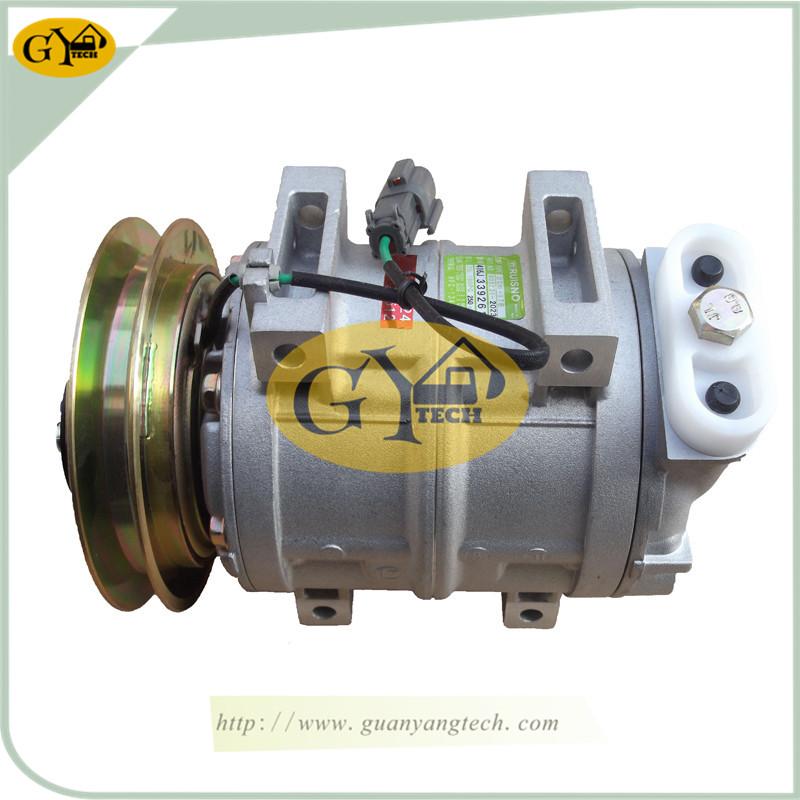 EX200 5 压缩机 - 4405135 Air Conditioning Compressor EX200-5 AC compressor for Hitachi Excavator EX100-5 EX120-5 EX150LC-5