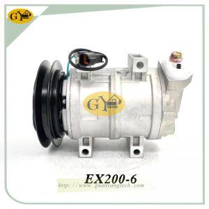 EX200-6 Air Cpmpressor, Hitachi excavator Air Compressor pump, EX200-6 compressor pump