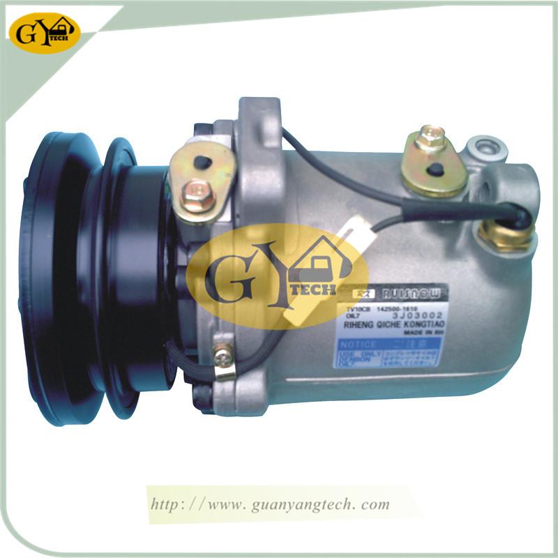 PC120 5 压缩机 - PC120-5 Air Compressor Pump Komatsu 4D95 Excavator