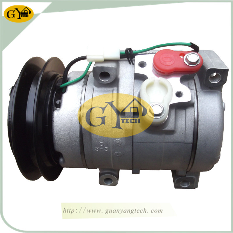 SANYI SY215 压缩机 - SY215 Air Compressor Pump for SANY Excavator air conditional Pump