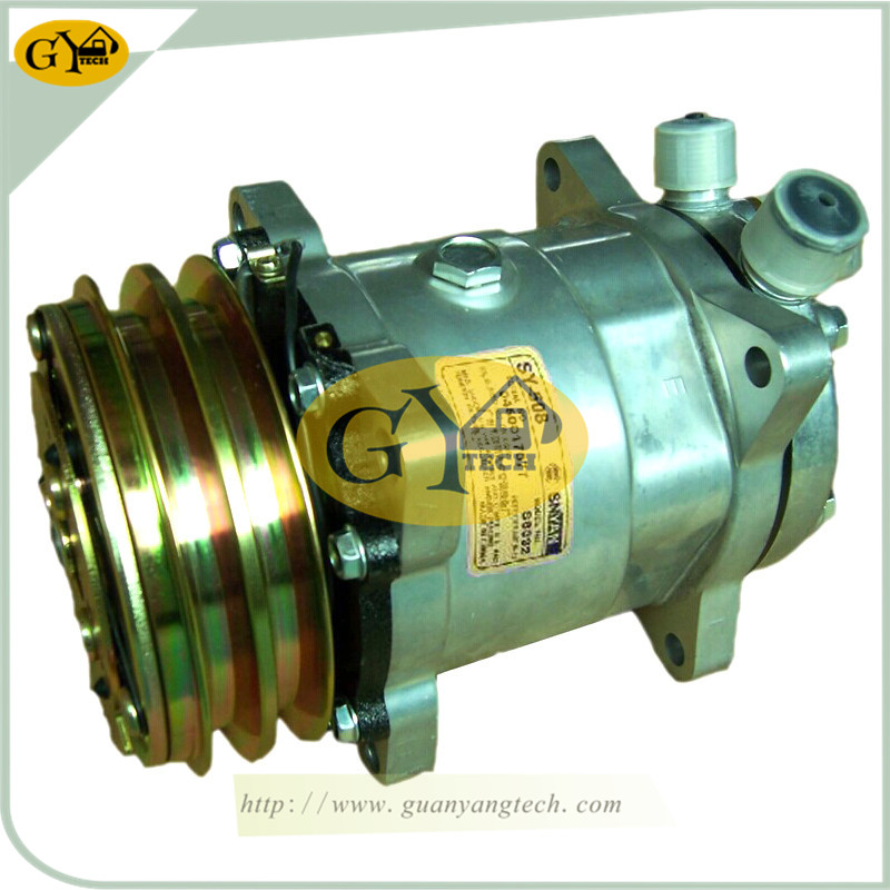 SANYI SY508 压缩机 - SY508Air Compressor Pump for SANY Excavator air conditional Pump