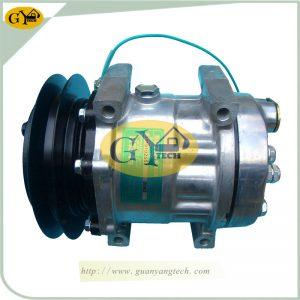 SK200-6 Air Conditional Pump LC91V00002F1 AC Compressor Assy Fits Kobelco SK200-6E Excavator
