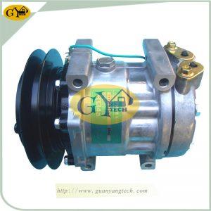 SK200-8 Air Conditional Pump YX91V00001F1 AC Compressor Assy Fits Kobelco SK350-8 SK260-8 Excavator