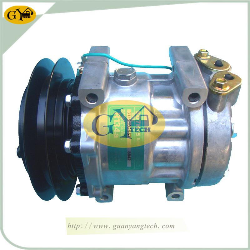 SK200 8 压缩机 - SK200-8 Air Conditional Pump YX91V00001F1 AC Compressor Assy Fits Kobelco SK350-8 SK260-8 Excavator